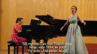"""Lâm Minh Ngọc   Tốt nghiệp Cao học Thanh nhạc 2017   Romance """"Gretchen am Spinnrade"""""""