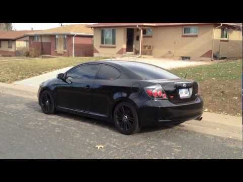 Scion tC rs5 TRD Exhaust cold start-Rev-Drive By