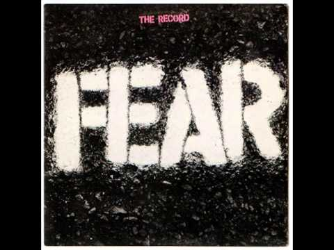 Fear - I Dont Care About You