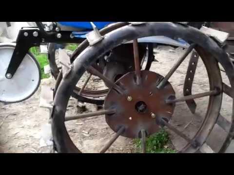 Как сделать колеса на мотоблок