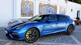 2018 Porsche Panamera Turbo S E Hybrid Sport Turismo   Networked intelligence