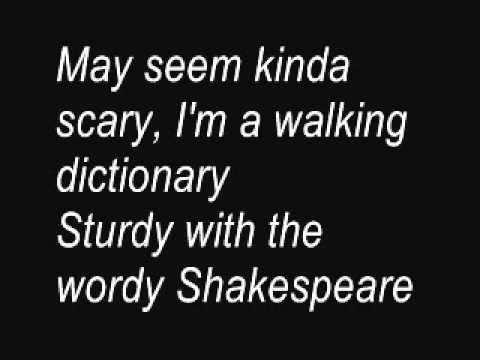 Horrible Histories: William Shakespeare Lyrics video