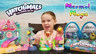 Opening New Hatchimals Colleggtibles Mermal Magic Mermaid Surprise Egg Toys!