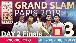 Grand-Slam Paris 2019: Day 2 - Final Block