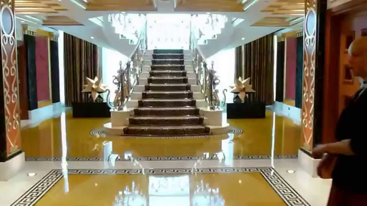 Burj al arab royal suite youtube for Burj al arab rooms