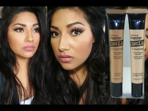 NEW Maybelline New York Master Conceal Camouflaging Concealer FIRST IMPRESSIONS - Alexisjayda