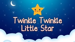 Twinkle Twinkle Little Star Rhyme - English Nursery Rhymes Songs for Children