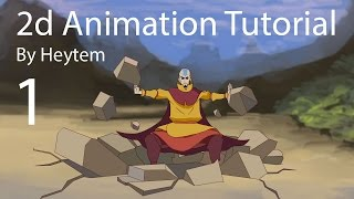 2d Animation tutorial - How To Animate Intro