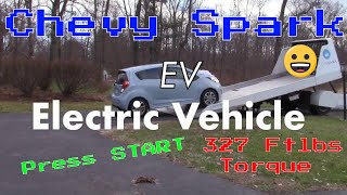 Chevy Spark EV teaser My first Electric Vehicle by SVTWRC
