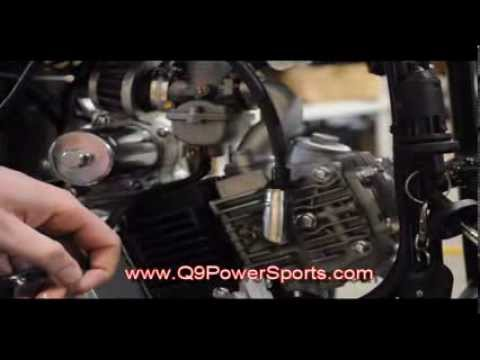 Fix a Leaking carburetor with a stuck Float on a Youth ATV   Q9 PowerSports USA