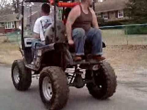 4X4: 4x4 Golf Cart Redneck Golf Cart Html on
