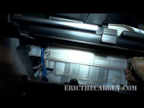 2004 Toyota 4Runner Cabin Air Filter Replacement -EricTheCarGuy