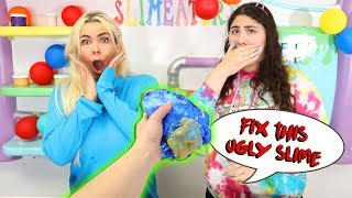 FIX THIS UGLY SLIME CHALLENGE! Slimeatory $599.2