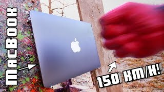Rocket powered 3D printed FIST -VS- MacBook