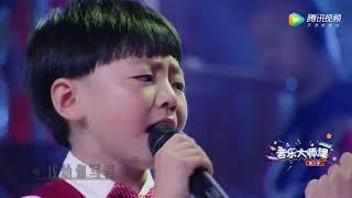 谭维维与6岁男娃对唱《如果有来生》,念信相拥而泣,感人!