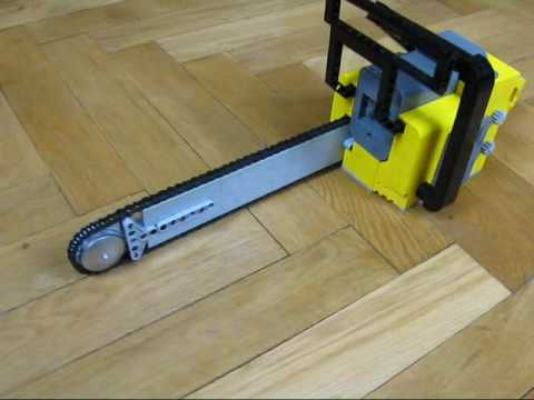 Lego 1:1 Motorized Chainsaw