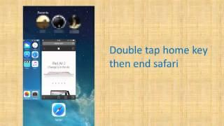 How to remove FBI warning scam on iPhone/iPad in safari