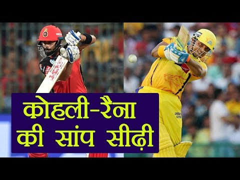 IPL 2018: Virat Kohli Overtakes Suresh Raina As Highest Run Scorer | वनइंडिया हिंदी
