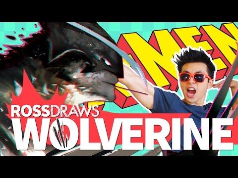 RossDraws: WOLVERINE!! (Marvel X-Men)