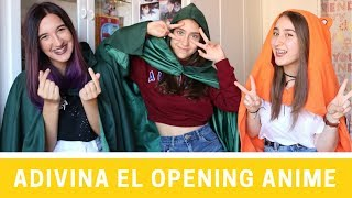ADIVINA EL OPENING DEL ANIME Challenge | 3otakusenraya