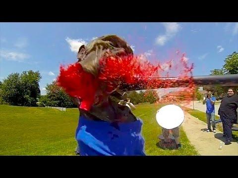 Sledge Hammer Zombie Face EXPLOSION! | ZOMBIE GO BOOM