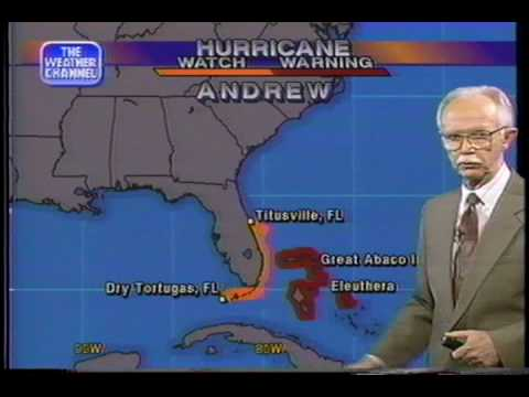 Hurricane Andrew 1992  As It Happened!  Part-2