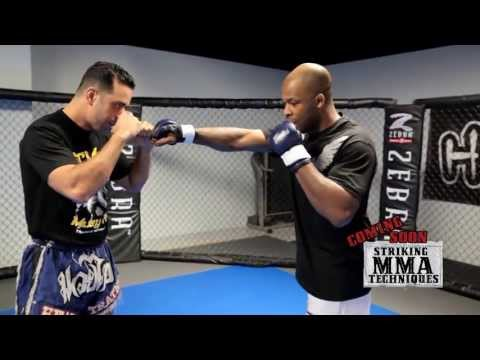 MMA Striking Techniques with Kru Ash and David Loiseau