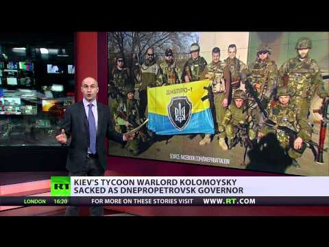 Ukraine Spat: Poroshenko gets Humvees, Kolomoysky gets boot
