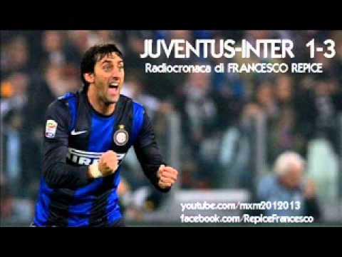 JUVENTUS-INTER 1-3 - Radiocronaca di Francesco Repice (3/11/2012) da Radiouno RAI