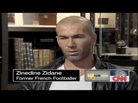 Zinedie Zidane - Interview Part1.flv