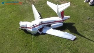Tổng hợp các pha tai nạn máy bay mô hình