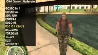GTA San Andreas mod Skins