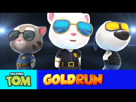 BRAVE NEW CHARACTERS - Talking Tom Gold Run (Mission Gameplay)