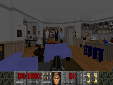 Doom 2 - Seinfeld: Jerry's Apartment