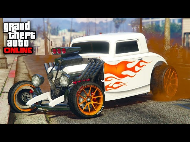 NEW SUPER RARE CAR! - GTA V ONLINE - GTA 5 ONLINE