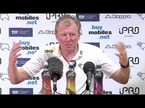 Pre-Blackpool Press Conference With Steve McClaren