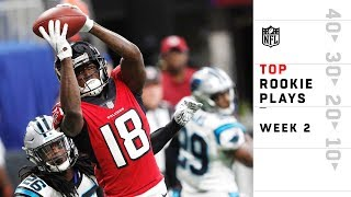 Top Rookie Plays from Sunday | NFL Week 2 Highlights