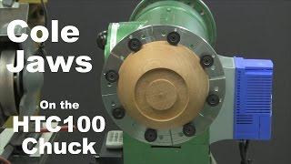 HTC100 Woodturning Chuck - Part 2 - Cole Jaws