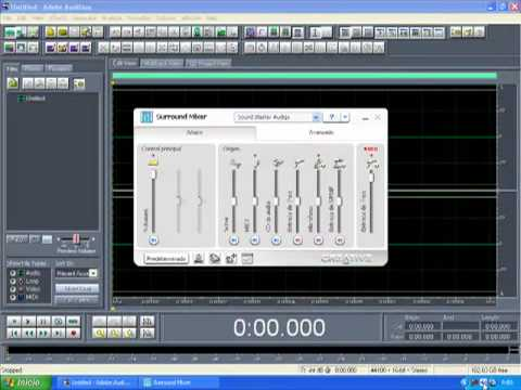 Tutorial Iniciar una Grabación Adobe Audition 1.5
