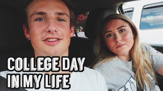 college day in my life at unc greensboro    fall 2018