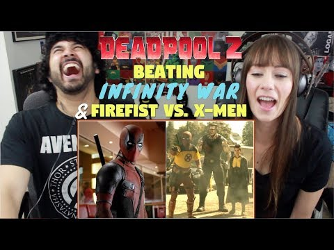 "DEADPOOL 2 ""Beating Avengers"" TRAILER & ""Firefist Vs. X-Men"" MOVIE CLIP REACTIONS!!!"