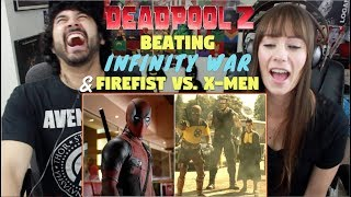 """DEADPOOL 2 """"Beating Avengers"""" TRAILER & """"Firefist Vs. X-Men"""" MOVIE CLIP REACTIONS!!!"""