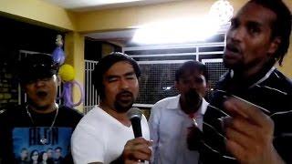 Lito Camo, Blakdyak, Alon & Manny Paksiw (singing April boy Medley)