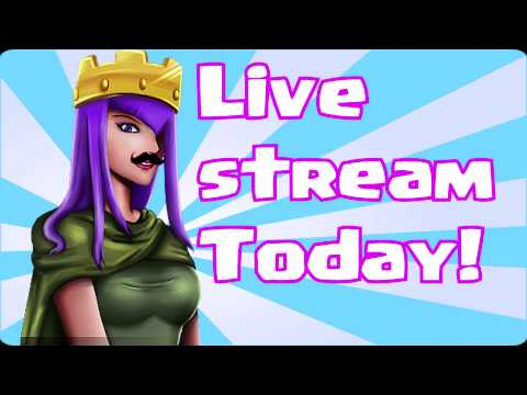 Clash Of Clans - LIVE STREAM TODAY!!!