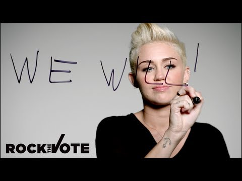 Check out our friends and supporters who are spreading Rock the Vote's #WeWill message this election season. Watch, register to vote at www.rockthevote.com &...