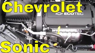 2013 CHEVROLET SONIC REVIEW Engine Start Up