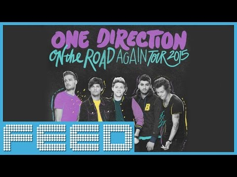 One Direction Announces 2015 On The Road Again TOUR