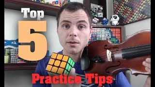Top 5 Practice Tips for the Rubik's Cube