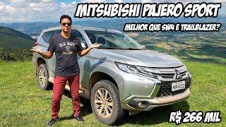 MITSUBISHI PAJERO SPORT: ele é melhor que Toyota SW4 e Chevrolet Trailblazer? TESTE COMPLETO