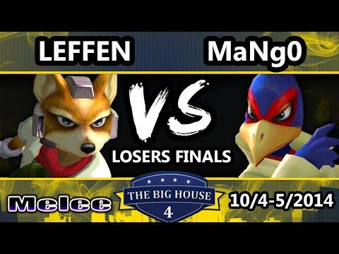 TBH4 - C9 Mango (Falco) Vs. Leffen (Fox) SSBM Losers Finals - Smash Melee